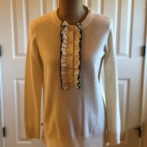 Tory Burch Sweater with ruffled front